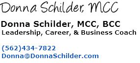 Donna Schilder, MCC Leadership Coach, Career Coach, & Business Coach
