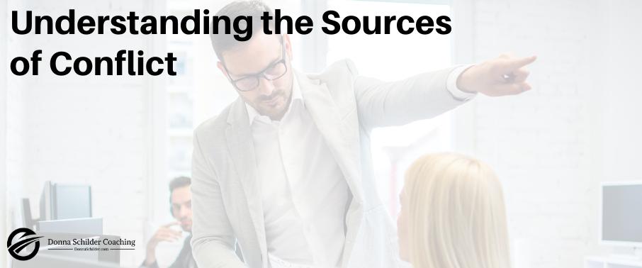 Understanding the Sources of Conflict