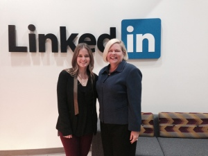 Donna Schilder at LinkedIn Headquarters