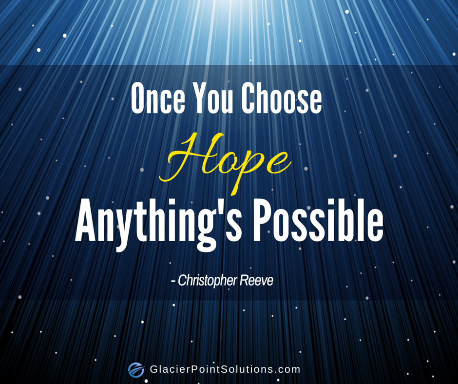 Christoper Reeve, hope