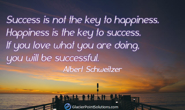 albert schweitzer, success, happiness