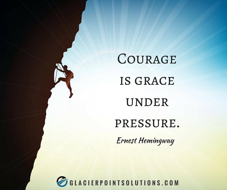 courage, ernest hemingway