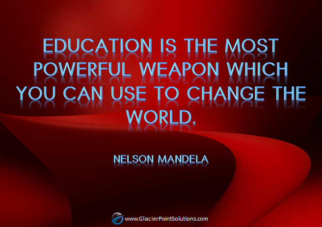 nelson mandela, education, powerful