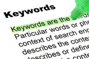 LinkedIn Keyword List