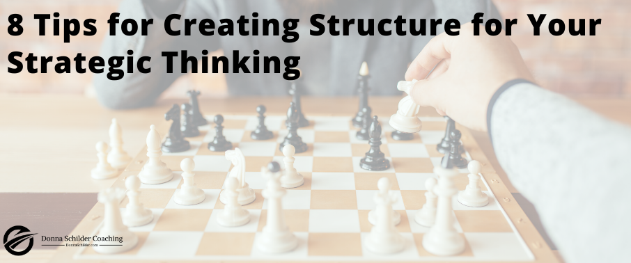8 Tips for Creating Structured Thinking