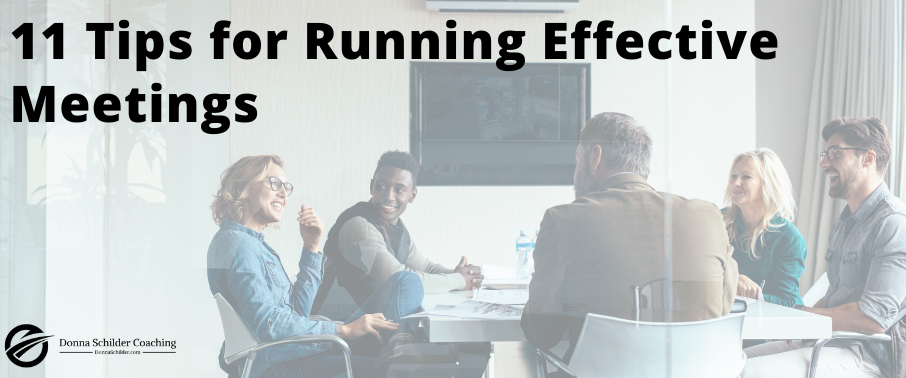 11 Tips for Running Effective Meetings