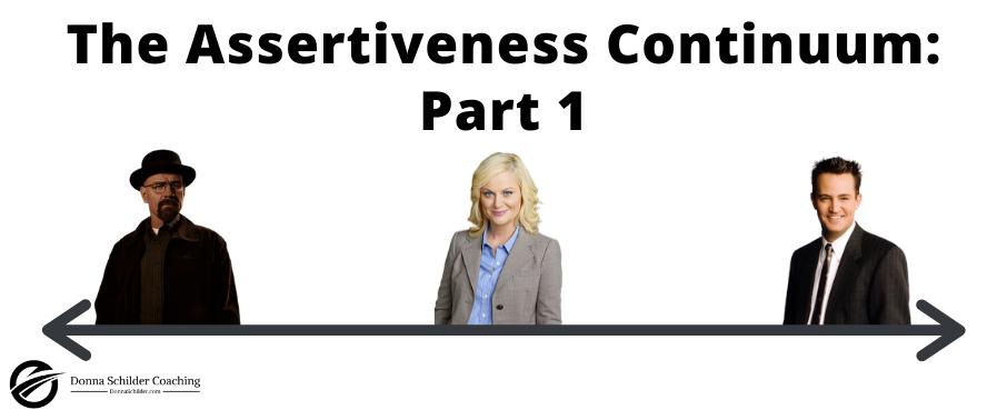 The Assertiveness Continuum Part 1