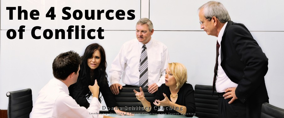 The 4 Sources of Conflict