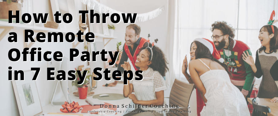 How to Throw a Remote Office Party
